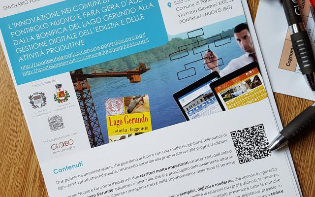 La brochure dell'evento